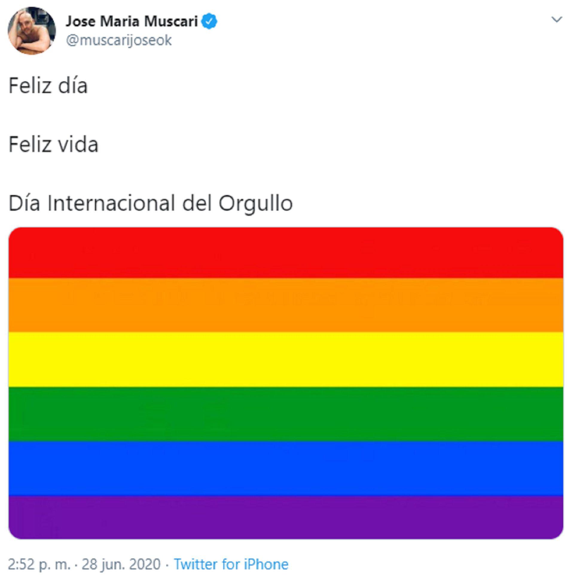 La publicación de José María Muscari