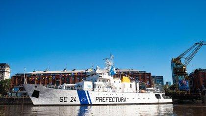 """El Guardacostas """"Mantilla"""" da nombre a la clase a la que pertenecen las naves destinadas al patrullado marítimo (Franco Fafasuli)"""