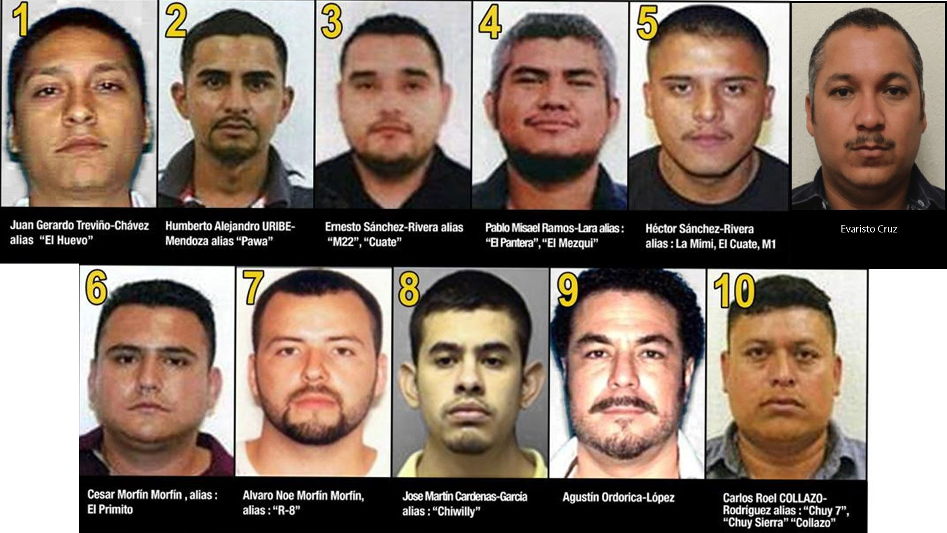 """Evaristo Cruz, alias el """"Vaquero"""", fue eliminado de las listas de los más buscados de Tamaulipas (Foto: Especial)"""