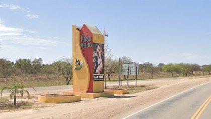 Localidad Paso Viejo