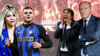 Wanda Nara y Mauro Icardi, ¿en pie de guerra contra el Inter?