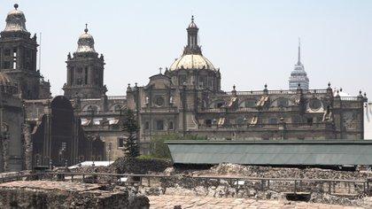 Del Templo Mayor quedaron apenas unas ruinas porque Cortés ordenó destruirlo (Foto: Juan Vicente Manrique).