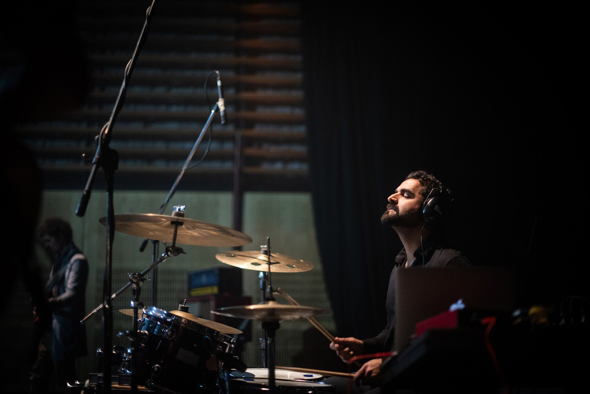 Yalal Yoma, baterista de la banda