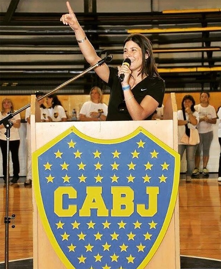 Paula Inés Seminara es una de las candidatas a vocal suplente en la lista de José Beraldi para las elecciones en Boca