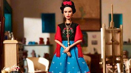 La Barbie Frida de Mattel.