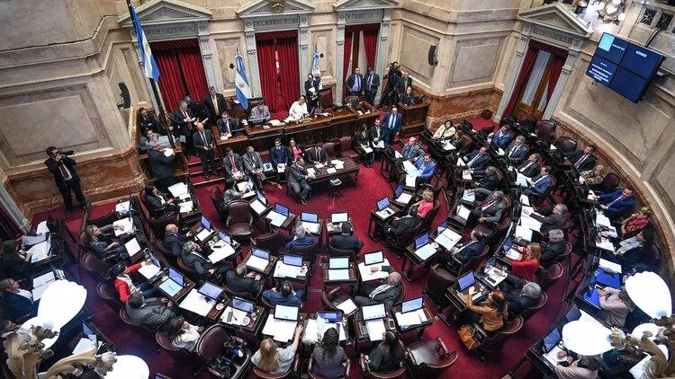En 2016 el Senado aprobó la emergencia social (Foto: Comunicación Senado)