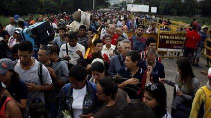 Los venezolanos en Colombia ya se acerca a 1.500.000 personas. (Reuters)