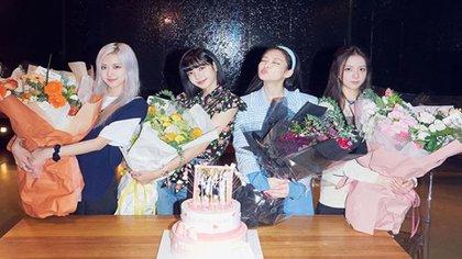 El grupo femenino surcoreano no estuvo presente en la ceremonia (Foto: Instagram)