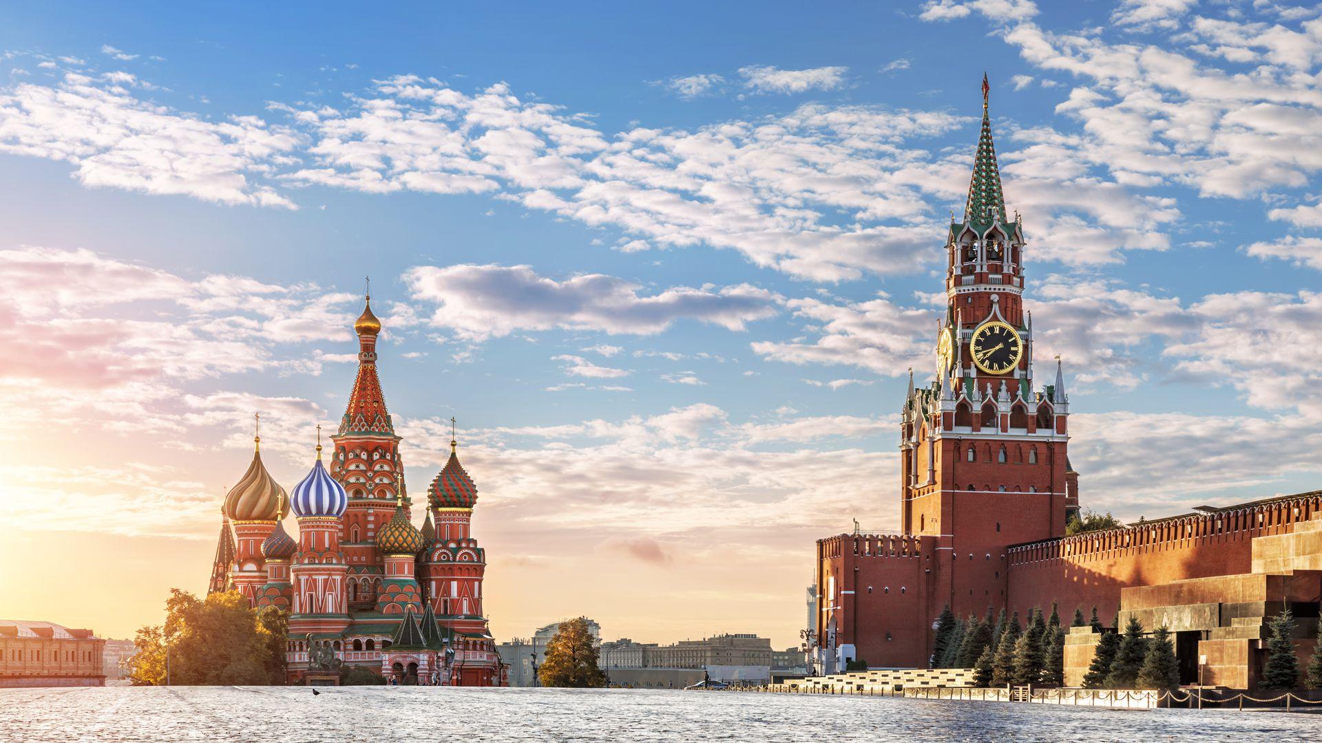 La Plaza Roja, en Moscú. Gracias a su audacia y habilidad, Kendall logró que Pepsico fuera la primera empresa occidental en vender su producto legalmente en la entonces Unión Soviética
