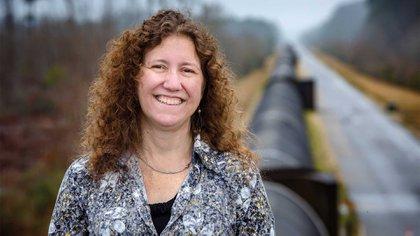 Gabriela González es científica y docente en la Universidad del Estado de Louisana en los Estados Unidos. Fue vocera de la Colaboración Ligo cuando se produjo el anuncio de la primera detección de ondas gravitacionales en el universo (Archivo DEF)