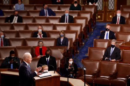 El presidente de EEUU se dirige por primera vez al Congreso