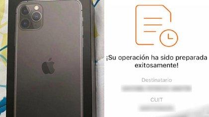Luz Petrochi fue estafada tras pagar $140 mil por un Iphone 11 Pro Max