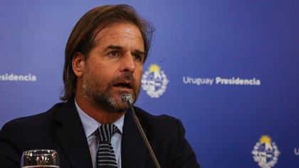El presidente de Uruguay, Luis Lacalle Pou. EFE/Federico Anfitti/Archivo