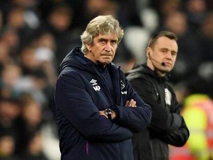 La última experiencia de Pellegrini fue en el West Ham en 2019