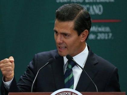 17/05/2017 Enrique Peña Nieto, presidente de México POLITICA CENTROAMÉRICA MÉXICO INTERNACIONAL EDGARD GARRIDO