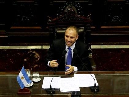 El ministro de Economía, Martín Guzmán. REUTERS/Agustin Marcarian