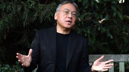 Kazuo Ishiguro, ganador del Premio Nobel de Literatura 2017 (AFP)