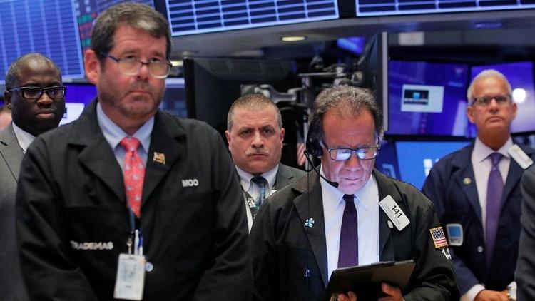 Wall Street tuvo un lunes negro (Reuters)