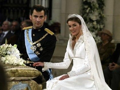 Los reyes de España en la catedral de la Almudena de Madrid