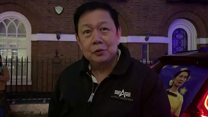 El embajador de Myanmar en Londres, Kyaw Zwar Minn