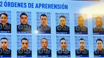 The arrest warrants have already been completed against the 12 agents (Photo: Twitter)