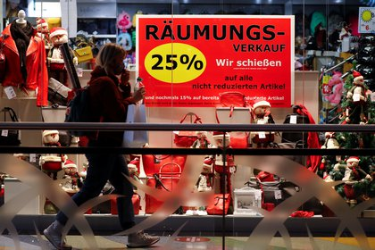Pandemia de coronavirus en Berlín a un mes de la Navidad. REUTERS/Fabrizio Bensch