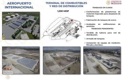 Planos del Aeropuerto Felipe Ángeles (Foto: Captura de Pantalla)