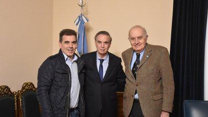 Ritondo, Pichetto y Asseff