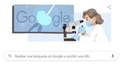 El doodle con el que Google homenajeó a la bióloga inglesa