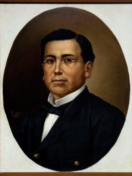 Pintura del general Zaragoza (Colección INAH)
