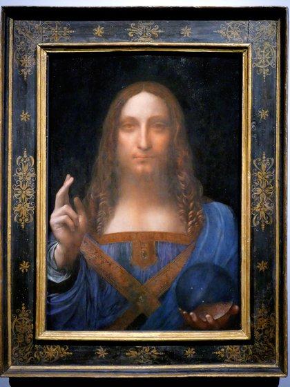 """""""Salvator Mundi"""" podría estar en la próxima exhibición del Museo del Louvre en París, aunque todavía no fue confirmado. Su localización es una incógnita"""