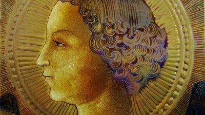 La primera obra pictórica de Leonardo da Vinci, una representación del Arcángel Gabriel en terracota