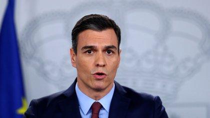 Pedro Sánchez (REUTERS/Sergio Perez)