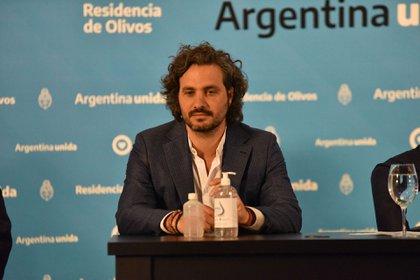 Santiago Cafiero, Jefe de Gabinete de ministros. (Franco Fafasuli)