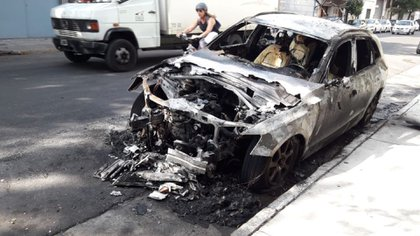 El vehículo siniestrado es un Audi Q5 valuado en 37.000 dólares
