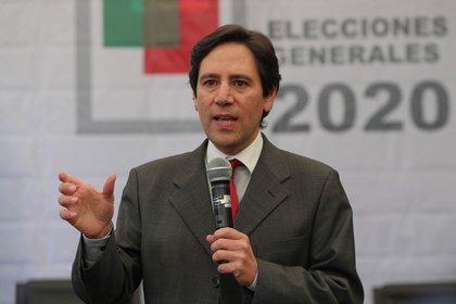 El presidente del Tribunal Supremo Electoral (TSE) de Bolivia, Salvador Romero (EFE)