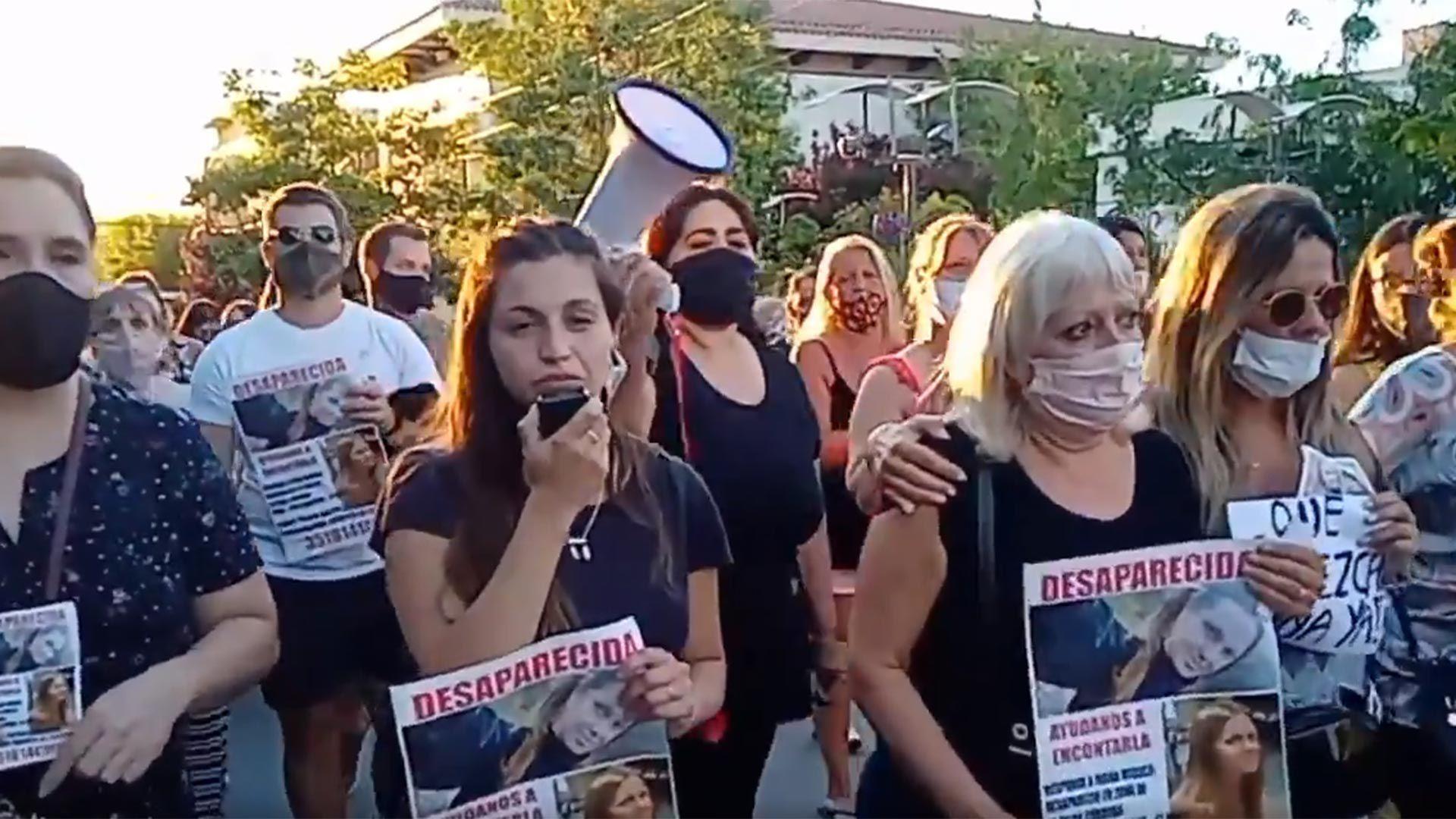 Marcha por la desaparición de Ivana Módica