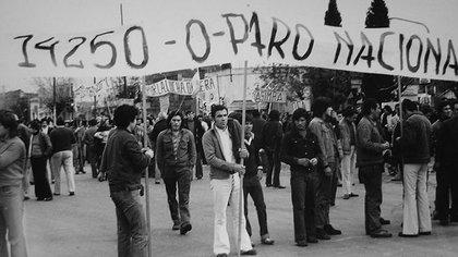 El viernes 27 de junio, columnas obreras llenan Plaza de Mayo reclamando por sus aumentos salariales