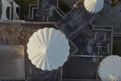 """Por sus torres se le llamó también la casa de los """"kisses"""" (Foto: captura de pantalla)"""
