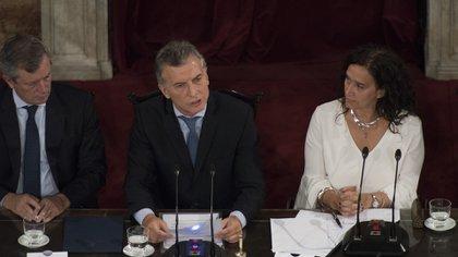 El presidente Mauricio Macri anunció en el Congreso el pasado jueves que el oficialismo impulsará extender la licencia por paternidad