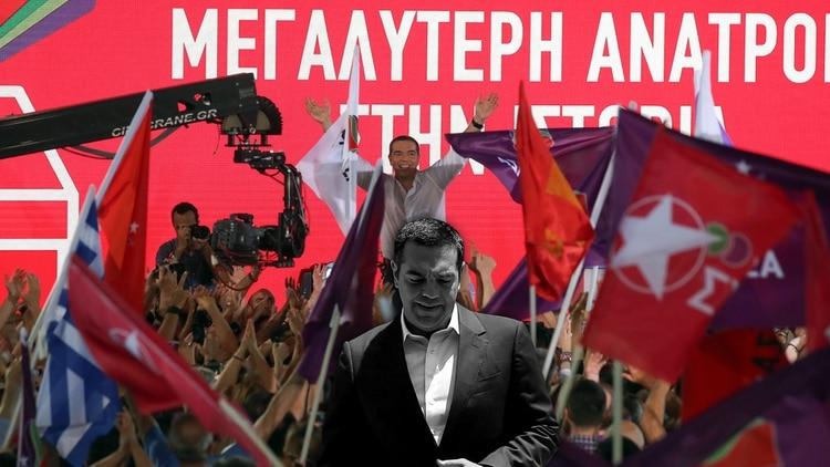 Alexis Tsipras había despertado grandes ilusiones entre los votantes de izquierda, pero terminó causando una inmensa decepción (Reuters)