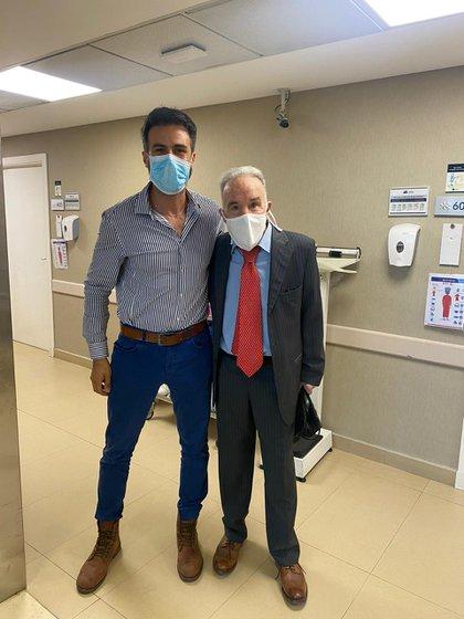 Leopoldo convocó a Luke Alfredo Kei para trabajar en el tratamiento de Maradona