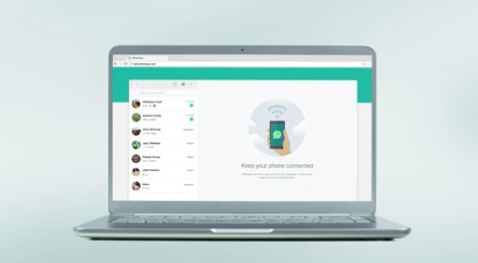Mejoró la seguridad de WhatsApp web