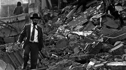 Este sábado se cumplen 26 años del atentado a la AMIA (AFP)
