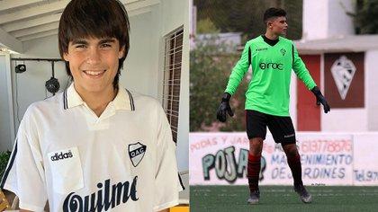 Luka Romero Quilmes y su hermano Tobías Romero (Foto: captura de pantalla)