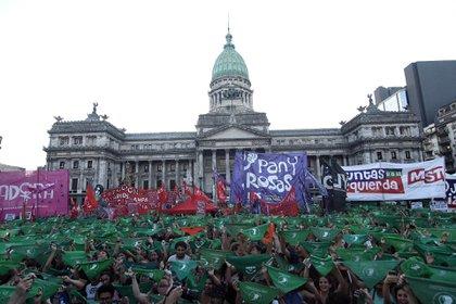 El martes habrá una manifestación al Congreso (Nicolás Stulberg)