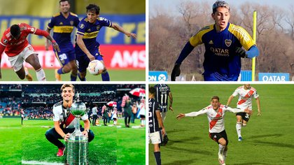 El Superclásico de la Copa Maradona podría ser la primera vez para varios juveniles
