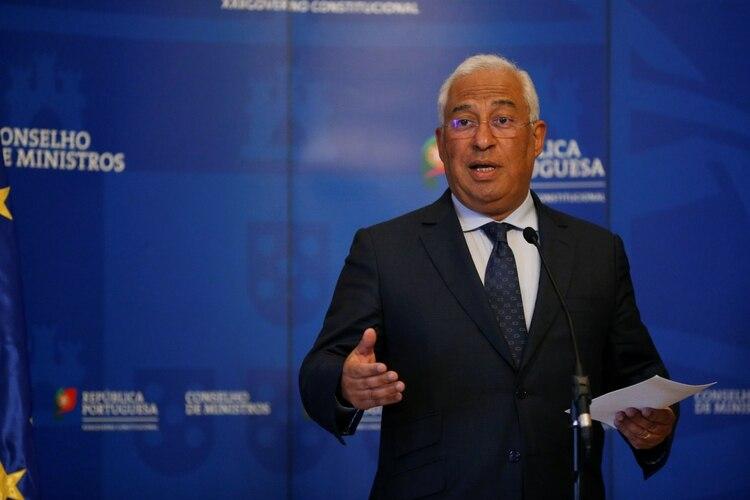 El primer ministro portugués Antonio Costa (REUTERS/Rafael Marchante)