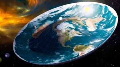 La forma real de la Tierra de acuerdo a los terraplanistas