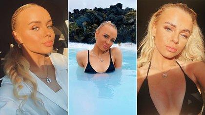 Lara Clausen, la modelo que compartió la noche con Phil Foden en Islandia